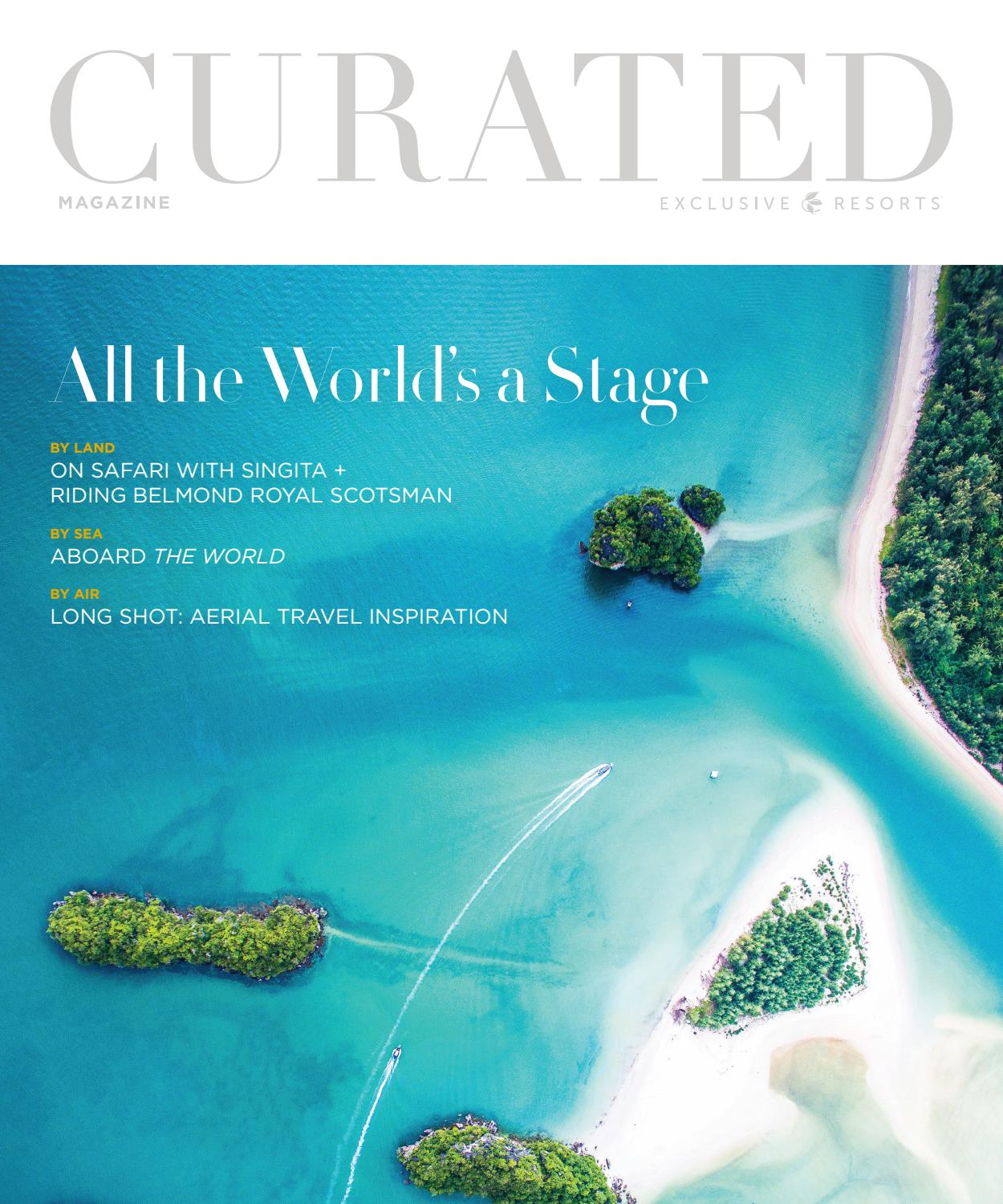 Phenomenal Curated Magazine By Exclusive Resorts Summer 2018 By Ocoug Best Dining Table And Chair Ideas Images Ocougorg