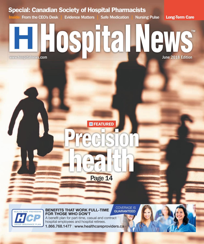 Hospital News 2018 June Edition by Hospital News - issuu