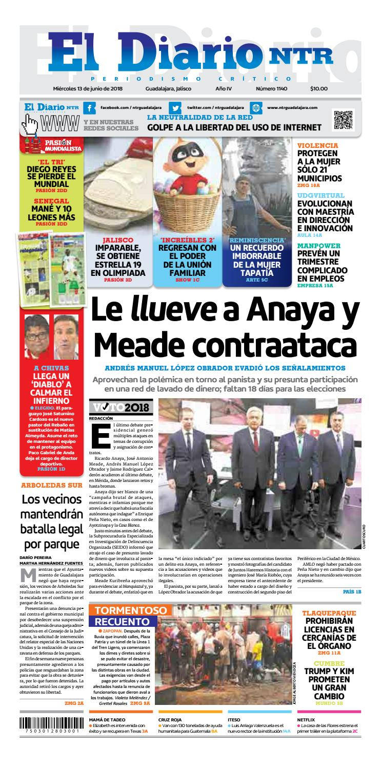 El Diario NTR 1140 by NTR Guadalajara - issuu