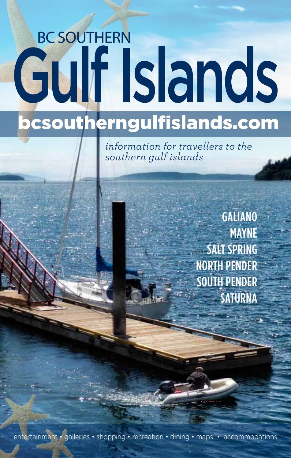Southern Gulf Islands Schedules Bc Ferries British