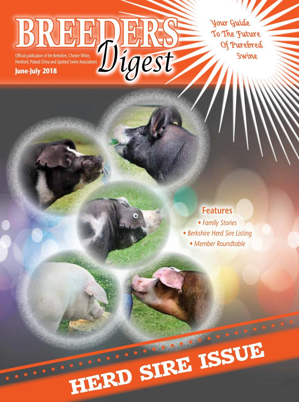 June July 2018 Breeders Digest by Encore Visions - issuu 012fba5c7
