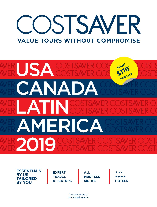 Costsaver America 2019 USA by Trafalgar - issuu
