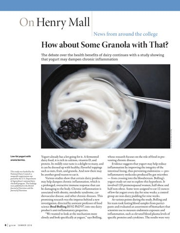 Page 6 of How about Some Granola with That?