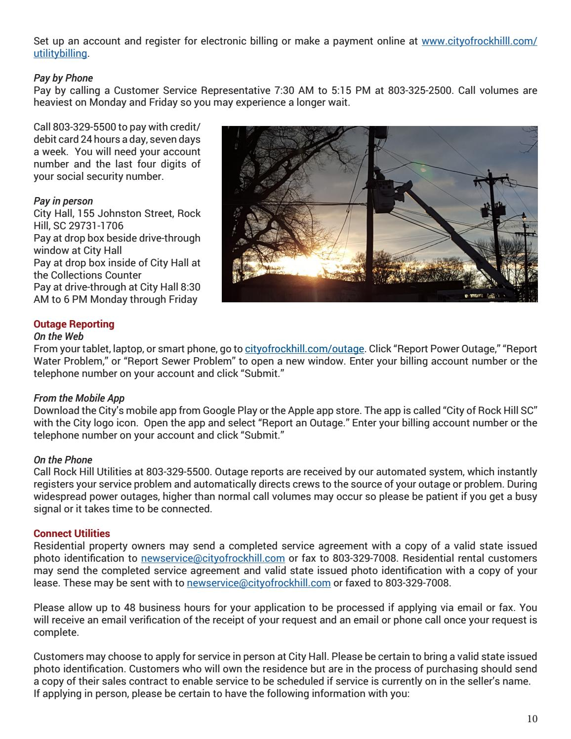 Rock Hill New Resident Reference Guide by Katie Quinn - issuu