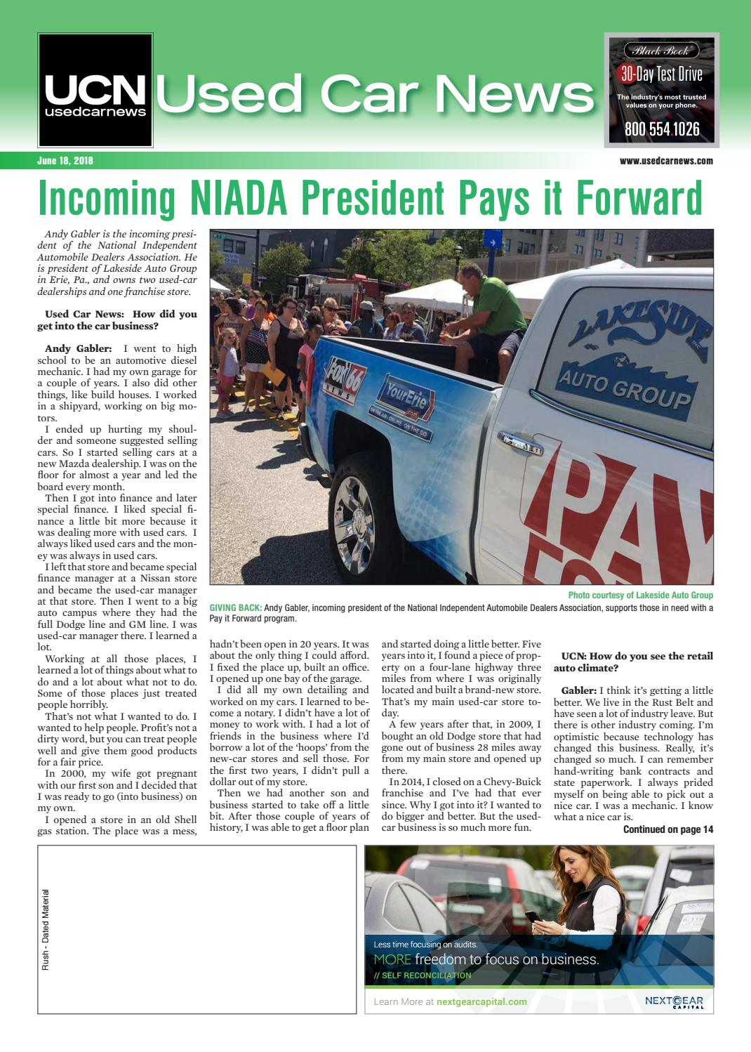 Car Dealerships Erie Pa >> Used Car News 06 18 2018 By Used Car News Issuu