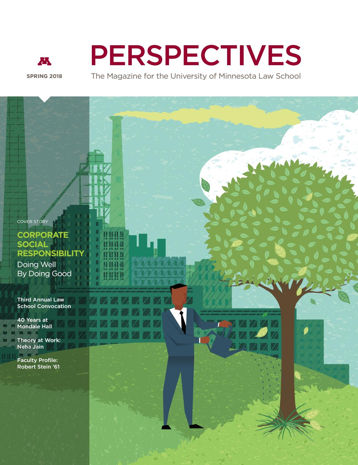 Spring 2018 Perspectives by University of Minnesota Law School - issuu