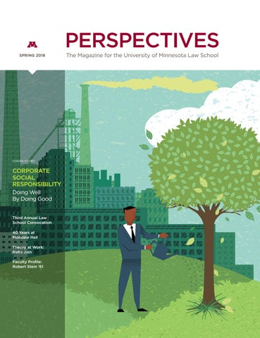 Spring 2018 Perspectives by University of Minnesota Law