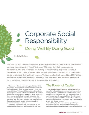 Page 23 of Corporate Social Responsibility: Doing Well by Doing Good