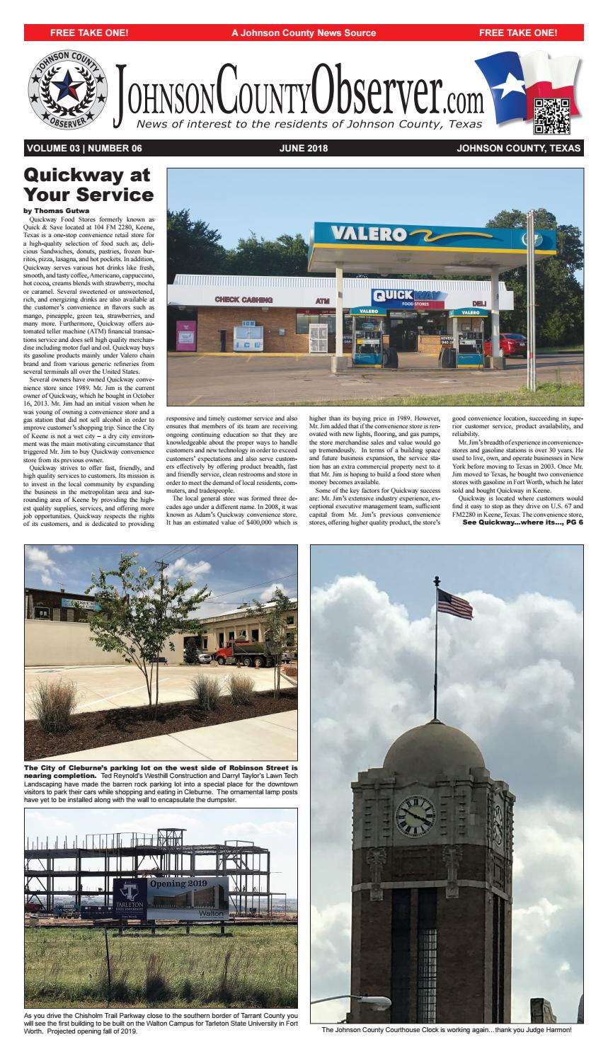 Johnson County Observer June 2018 by Johnson County Observer