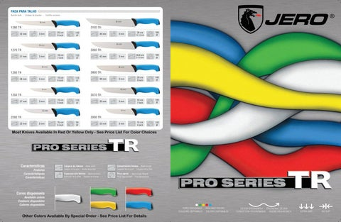 Page 1 of The New Pro Series TR Digital Catalog Is Now Available