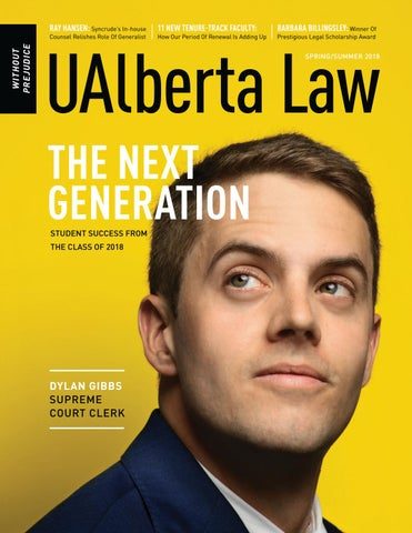 b225164b087b8a UAlberta Law, Without Prejudice, 2018 Spring by UAlberta Law - issuu