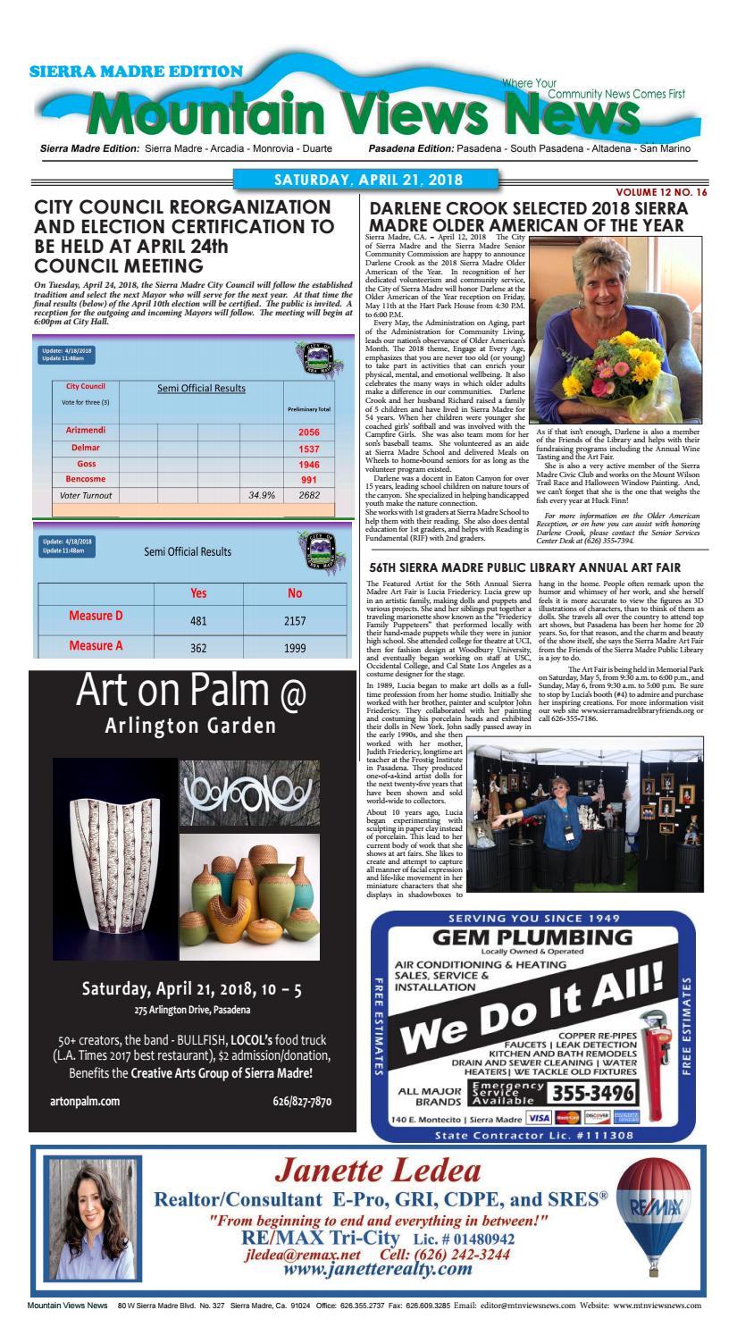 Mvnews 2018 04 21 by Mountain Views News - issuu