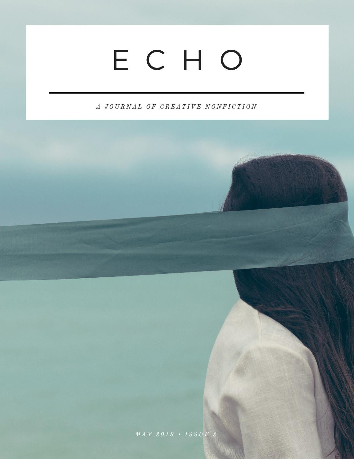 246ecf42f Echo: Issue 002 by The Paragon Press - issuu