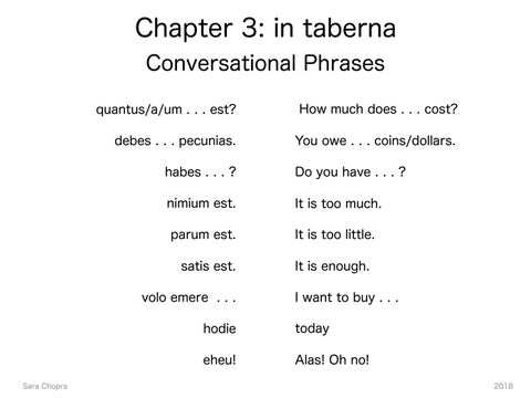 Page 17 of Chapter 3: in taberna