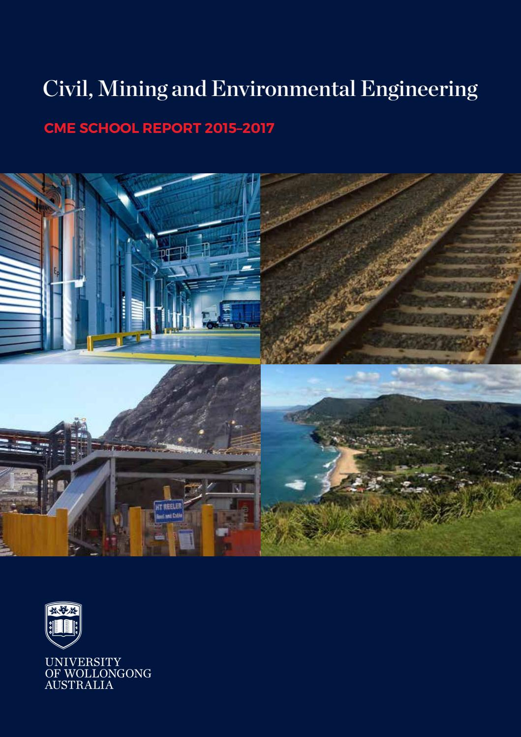Cme 2015 2017 School Report By Faculty Of Engineering Information