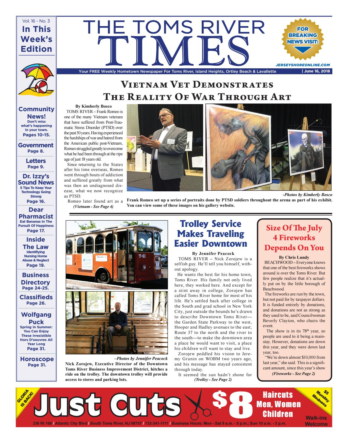 d9e91ef93c7 2018-06-16 - The Toms River Times by Micromedia Publications Jersey Shore  Online - issuu