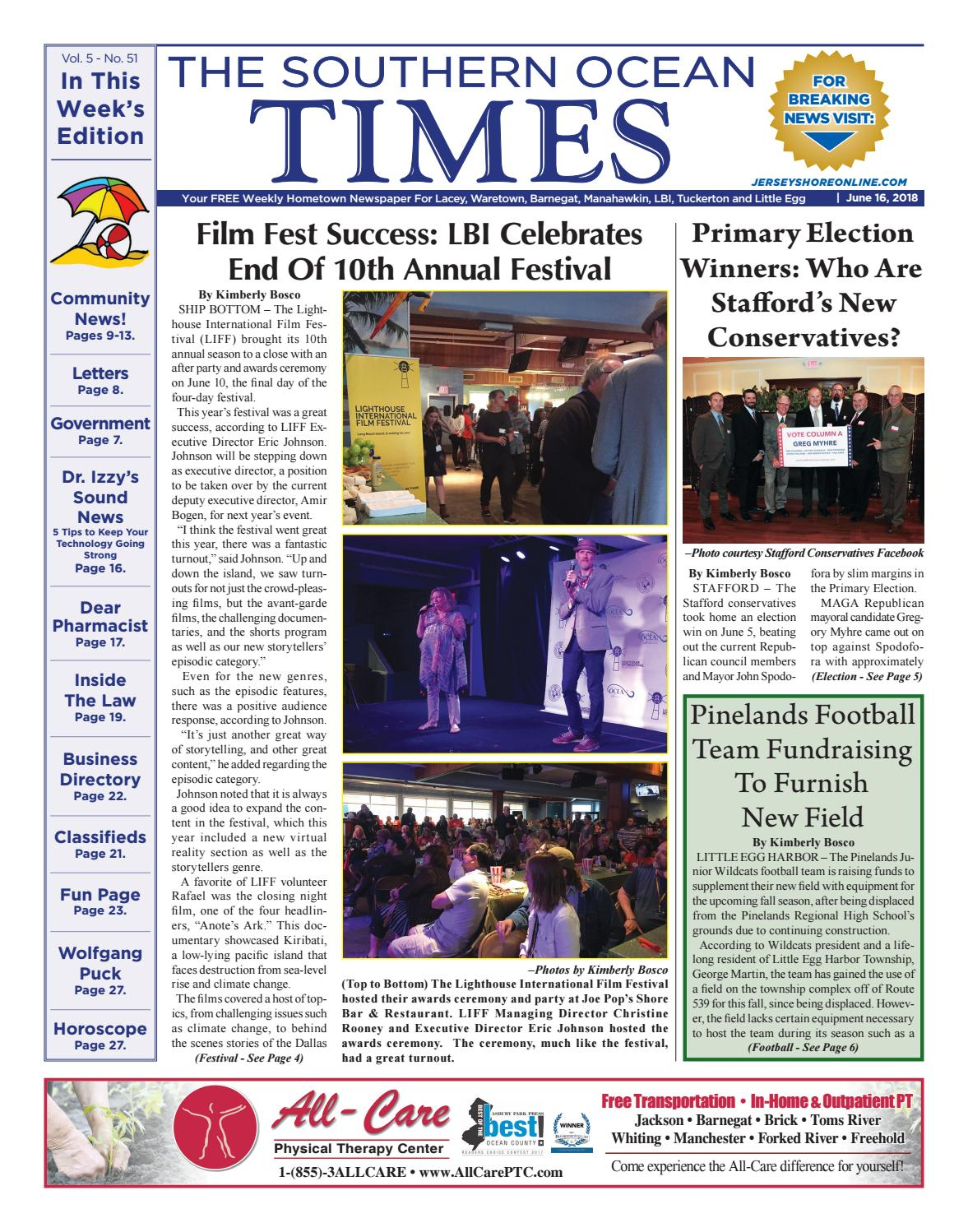 bd571aae73998 2018-06-16 - The Southern Ocean Times by Micromedia Publications ...