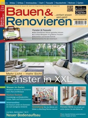 Bauen & Renovieren 7/8-2018 by Fachschriften Verlag - issuu