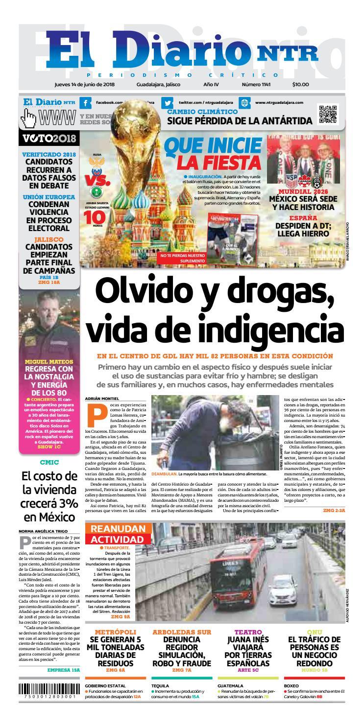El Diario NTR 1141 by NTR Guadalajara - issuu