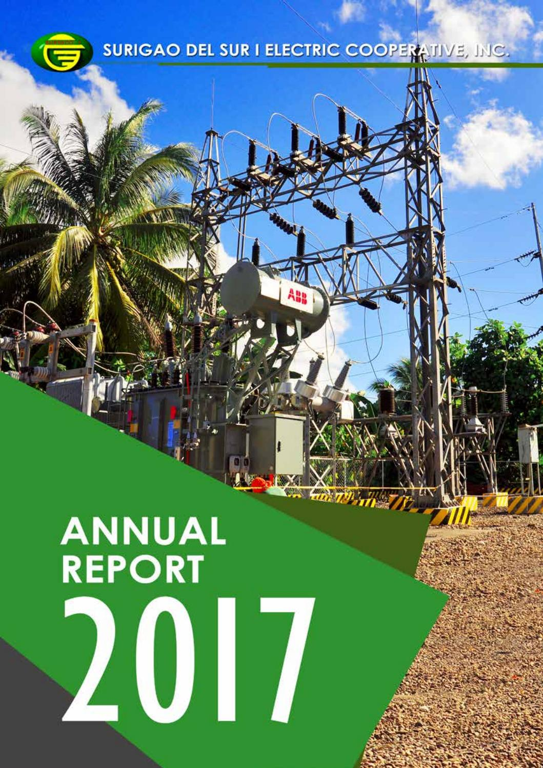 Doe Issues 39th Annual Report To >> Annual Report 2017 By Surseco 1 Issuu