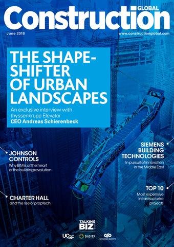 June 2018 Magazine Edition | Construction Global