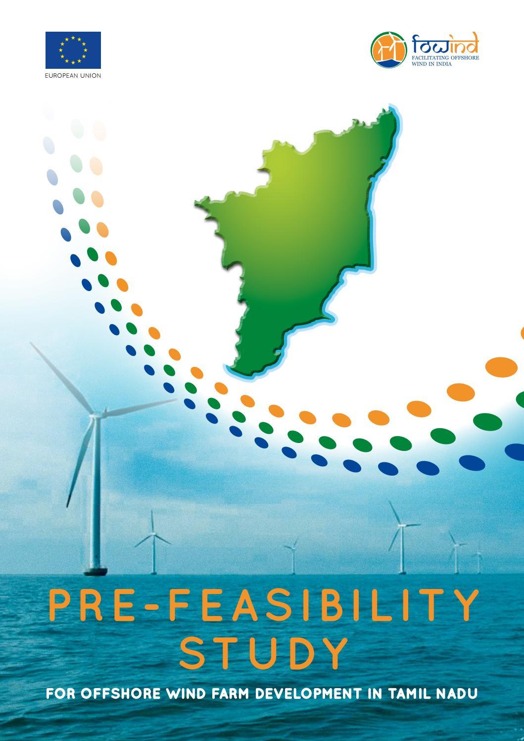 FOWIND Pre Feasibility Study OWF Tamil Nadu by DNV GL   issuu