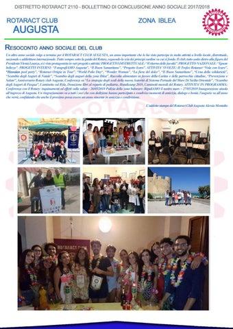 0fc6abee93 Un altro anno sociale volge a termine per il ROTARACT CLUB AUGUSTA, un anno  importante che lo ha visto partecipe in molte attività a livello locale, ...