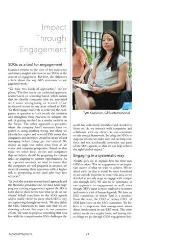 Page 28 of Impact Through Engagement