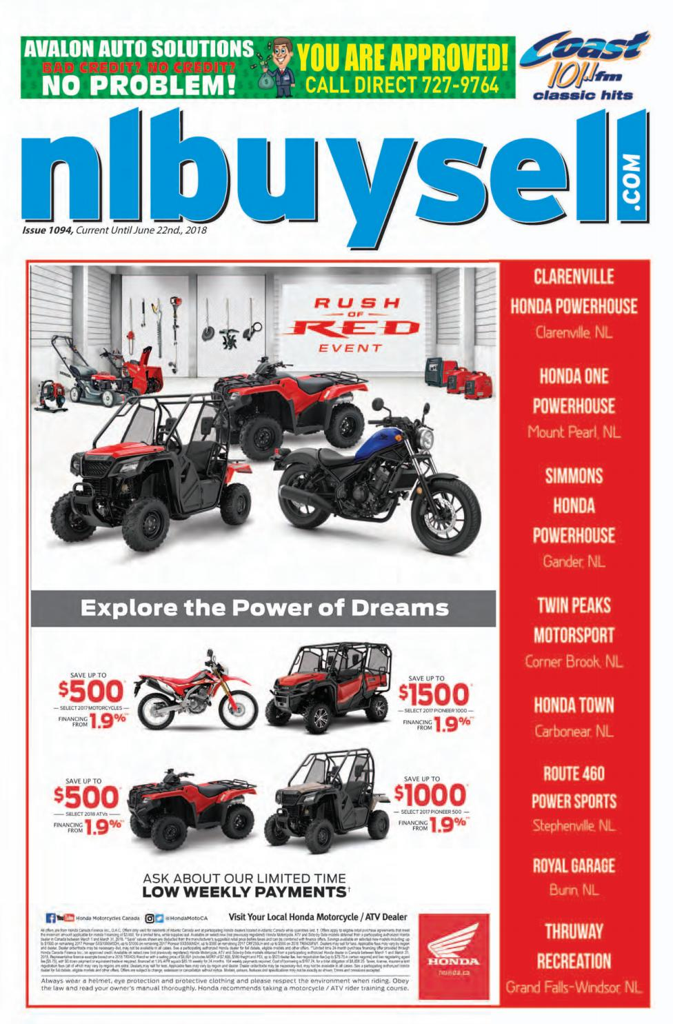 Buy And Sell Issue 1094 By Nl Issuu 2006 Honda Cbr600rr Under Front Seat Fuse Box Diagram