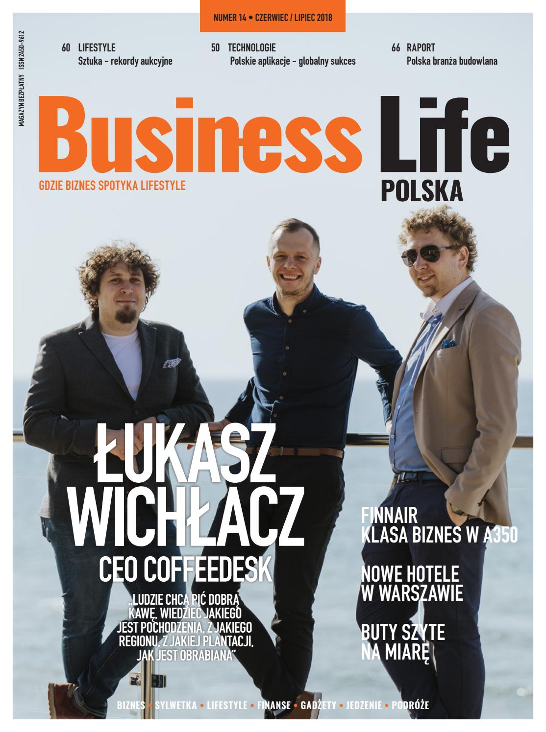 f86642cfe19b4a Business Life Polska 3 2018 by MajerMedia - issuu