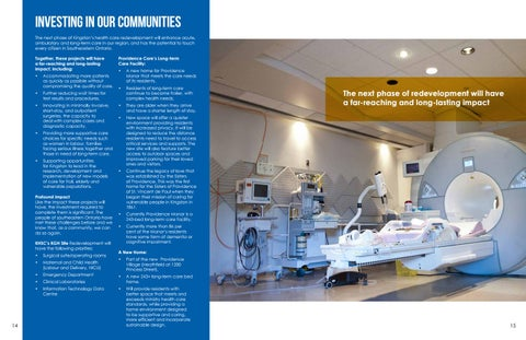 Page 8 of Investing in our Communities