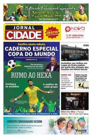 084c33b38 Jornal Cidade - Lagoa da Prata e região - Nº 119 - 14/06/2018 by ...