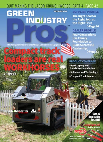 Green Industry Pros +Dealer Service Guide May/June 2018 by