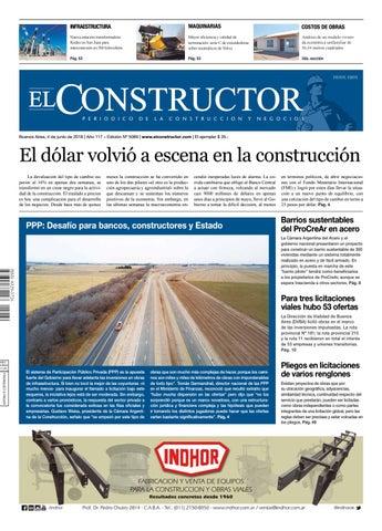 a11fc7f40c118 El Constructor 4 6 2018 - N° 5089 Año 117 by ELCO Editores - issuu
