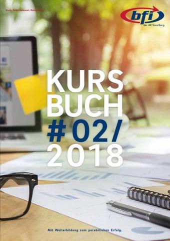 BFI-Kursbuch Herbst 2018 by BFI der AK Vorarlberg - issuu