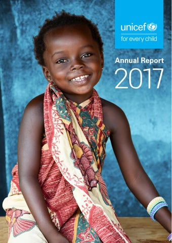 Unicef S Annual Report 2017 By Unicef Usa Issuu
