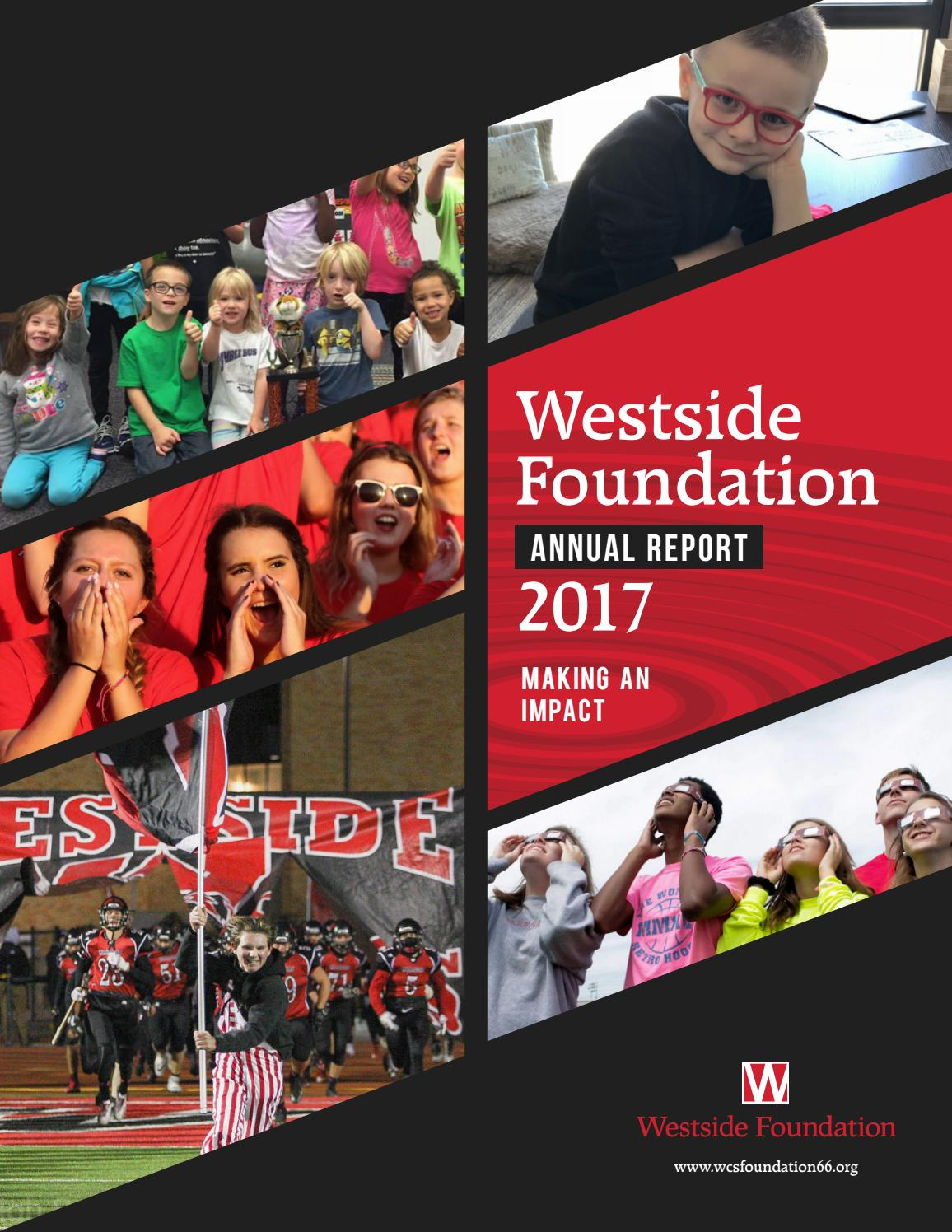 2017 Annual Report by Westside Foundation - issuu