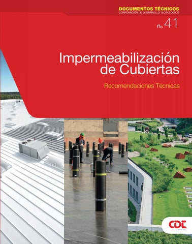 Impermeabilizacion De Cubiertas By Pfemenias Issuu