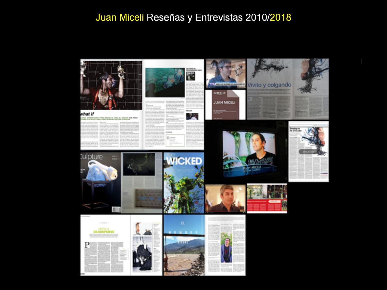 Reseñas y entrevistas 2018 / Reviews & Inteviews by juan miceli - issuu