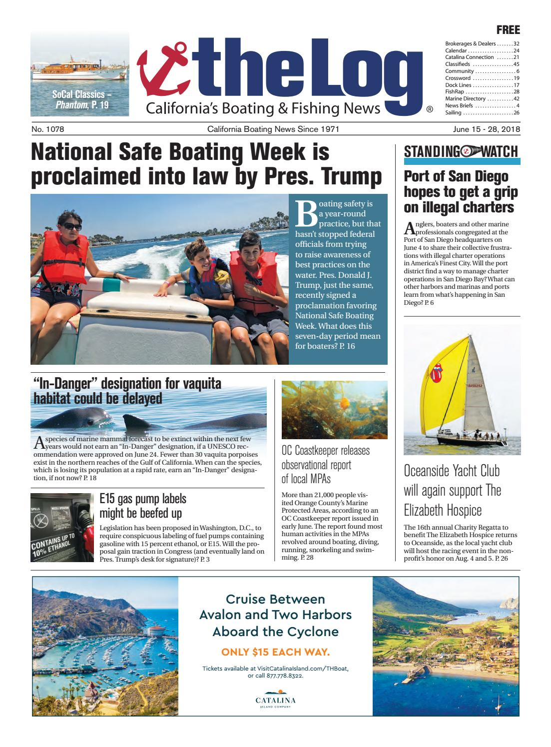 June 15-28, 2018 - The Log Newspaper by Duncan McIntosh Company - issuu