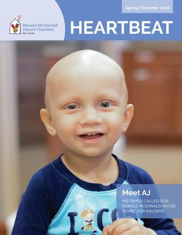 2018 Spring/Summer Heartbeat Newsletter by Ronald McDonald