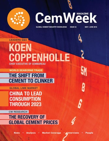 CemWeek Magazine: May/June 2018 by CemWeek - issuu