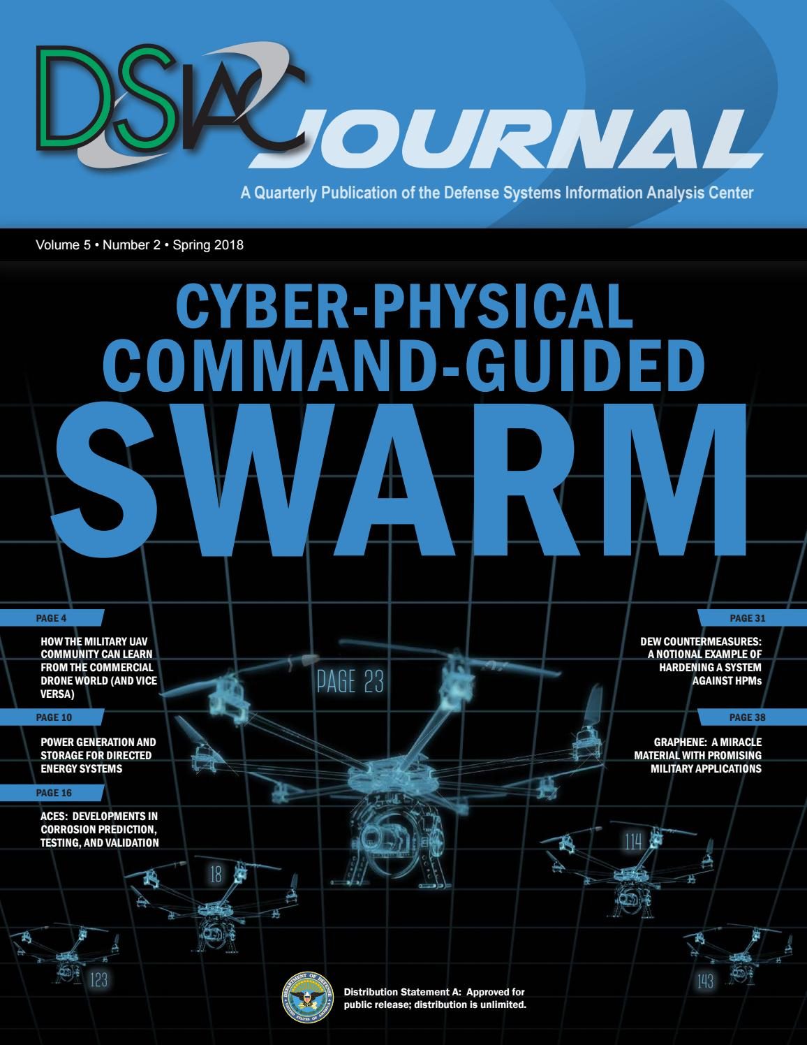 Dsiac Spring 2018 Vol 5 No 2 By Defense Systems Information Analysis Power Conversion Values Of Organic Solar Cells Spie Newsroom Center Issuu