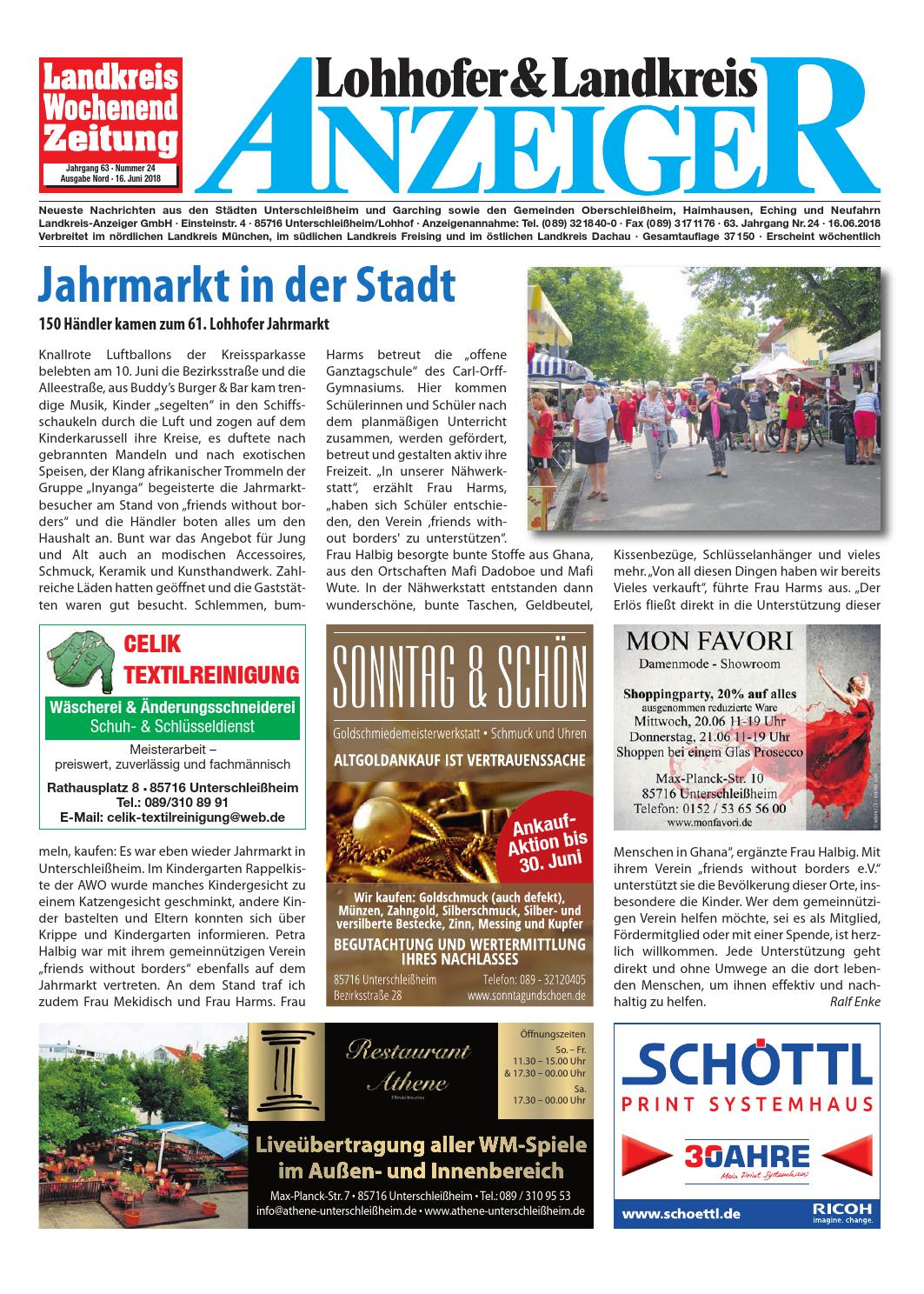 Lohhofer & Landkreis Anzeiger 2418 by Zimmermann GmbH Druck