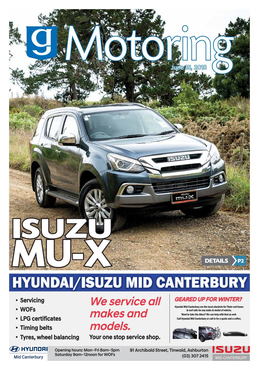 Motoring June 15 by Ashburton Guardian - issuu