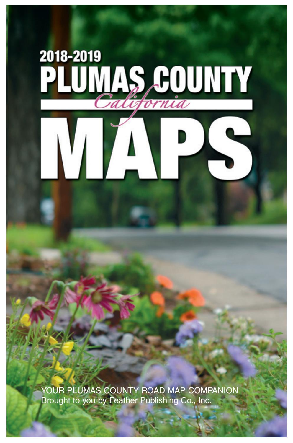 Plumas County Maps 2018-2019 by Feather Publishing - issuu on california california map, redway california map, agoura hills california map, ragged point california map, loyalton california map, woodside california map, sacramento california map, taylorsville california map, janesville california map, doyle california map, gridley california map, norco california map, murrieta california map, houston california map, la california map, tacoma california map, san francisco bay california map, ogden california map, montclair california map, boise california map,