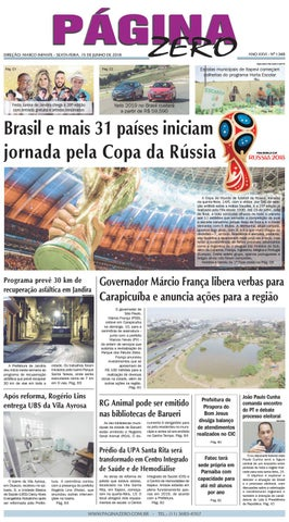 Página Zero Edição nº 1348 (15 06 2018) by Para acessar o seu Página ... 4cf93594aed63