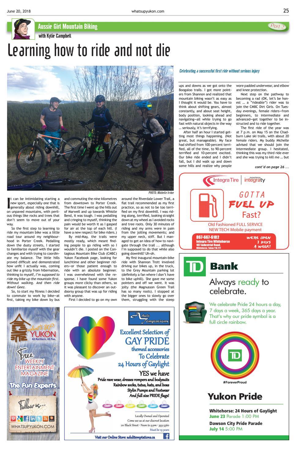 What's Up Yukon, June 20, 2018 by What's Up Yukon - issuu
