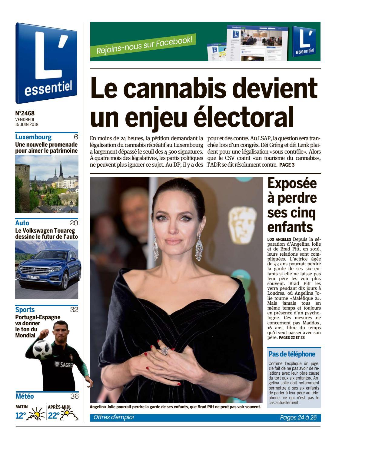 L Essentiel Epaper 2018 06 15 By L Essentiel Issuu