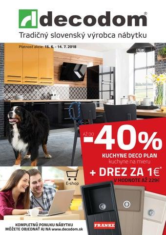 3891d0749f8b Tradičný slovenský výrobca nábytku Platnosť akcie  15. 6. - 14. 7. 2018